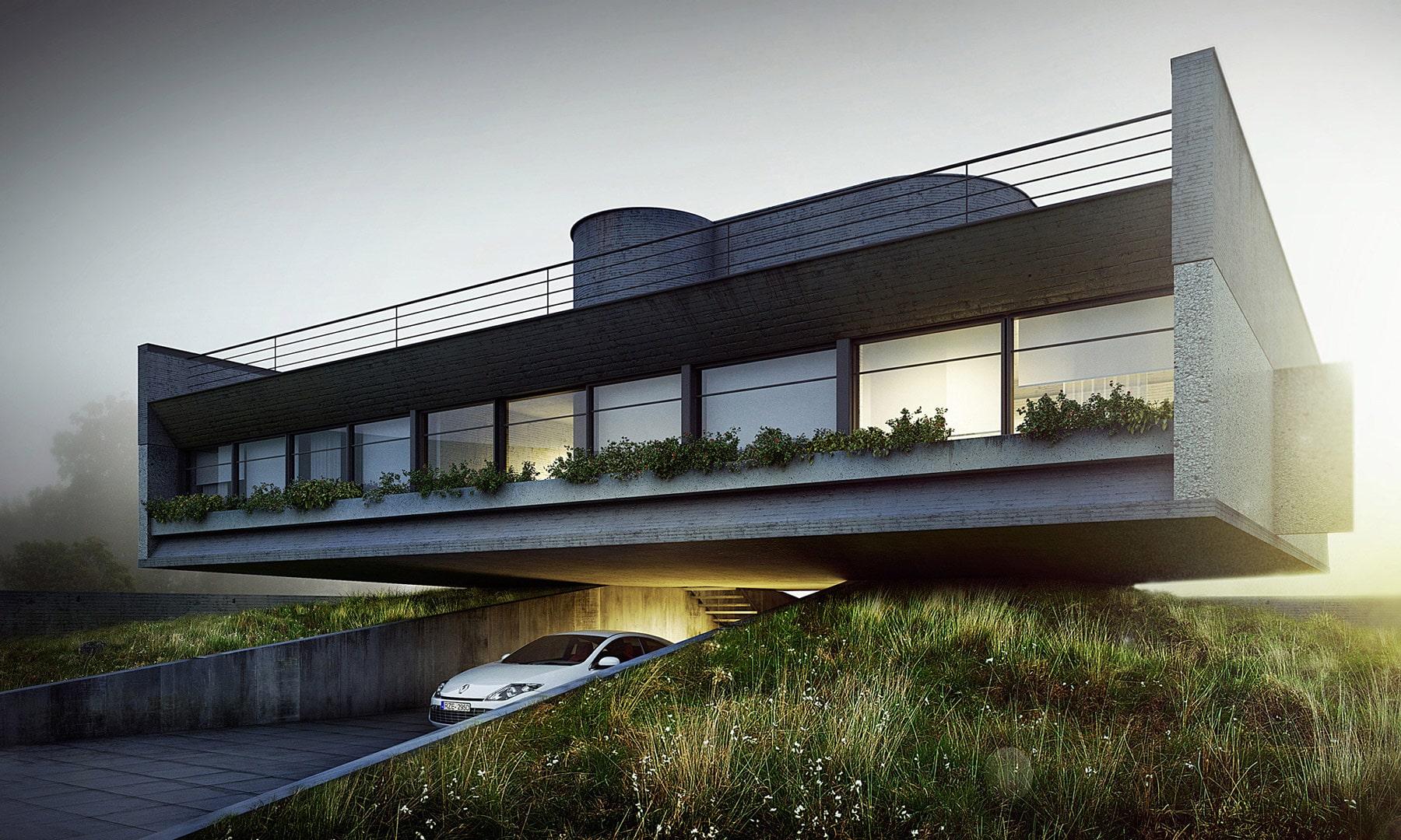 exterior design of building