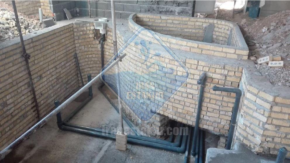 پروژه استخر و جکوزی خیابان گلخون