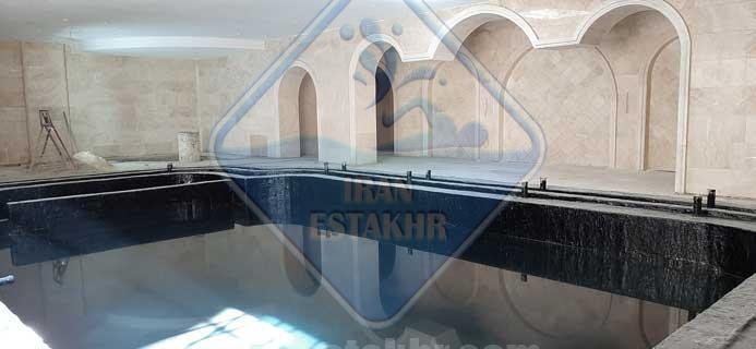 پروژه ساخت و اجرای استخر-قصردشت