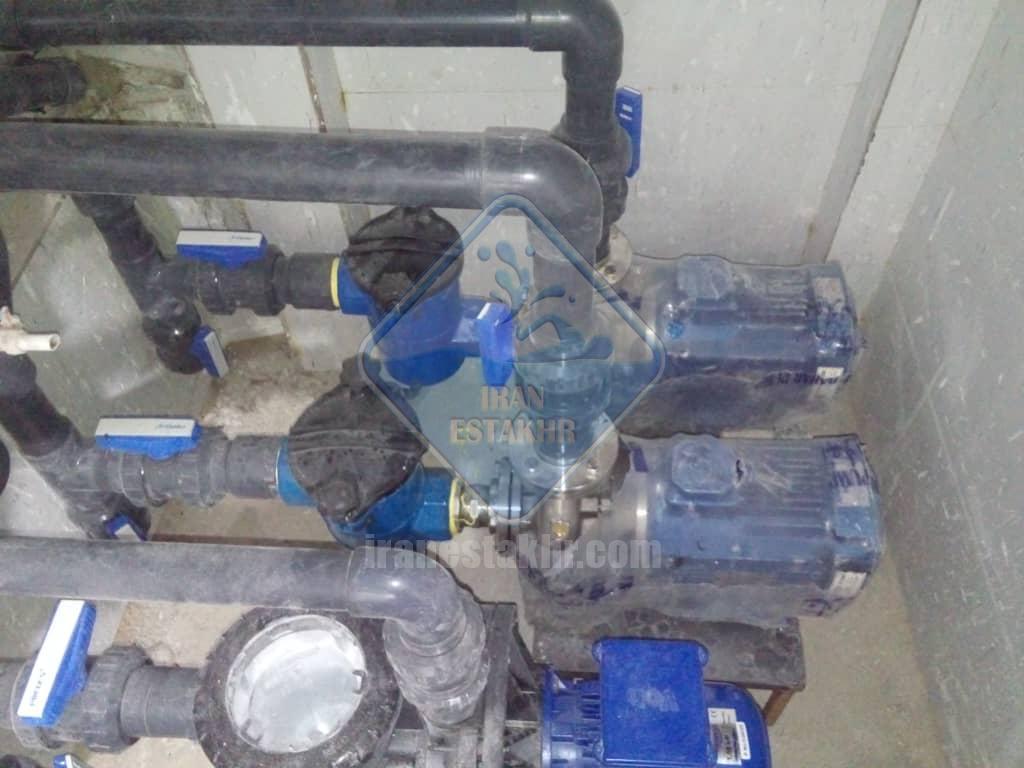 پروژه اجرای سیستم تصفیه و گرمایش موتورخانه جکوزی-شهرستان خنج