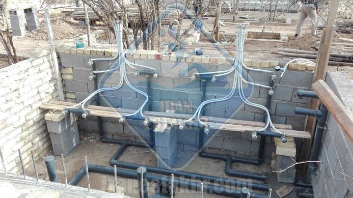 پروژه ساخت استخر – باغ دینکان