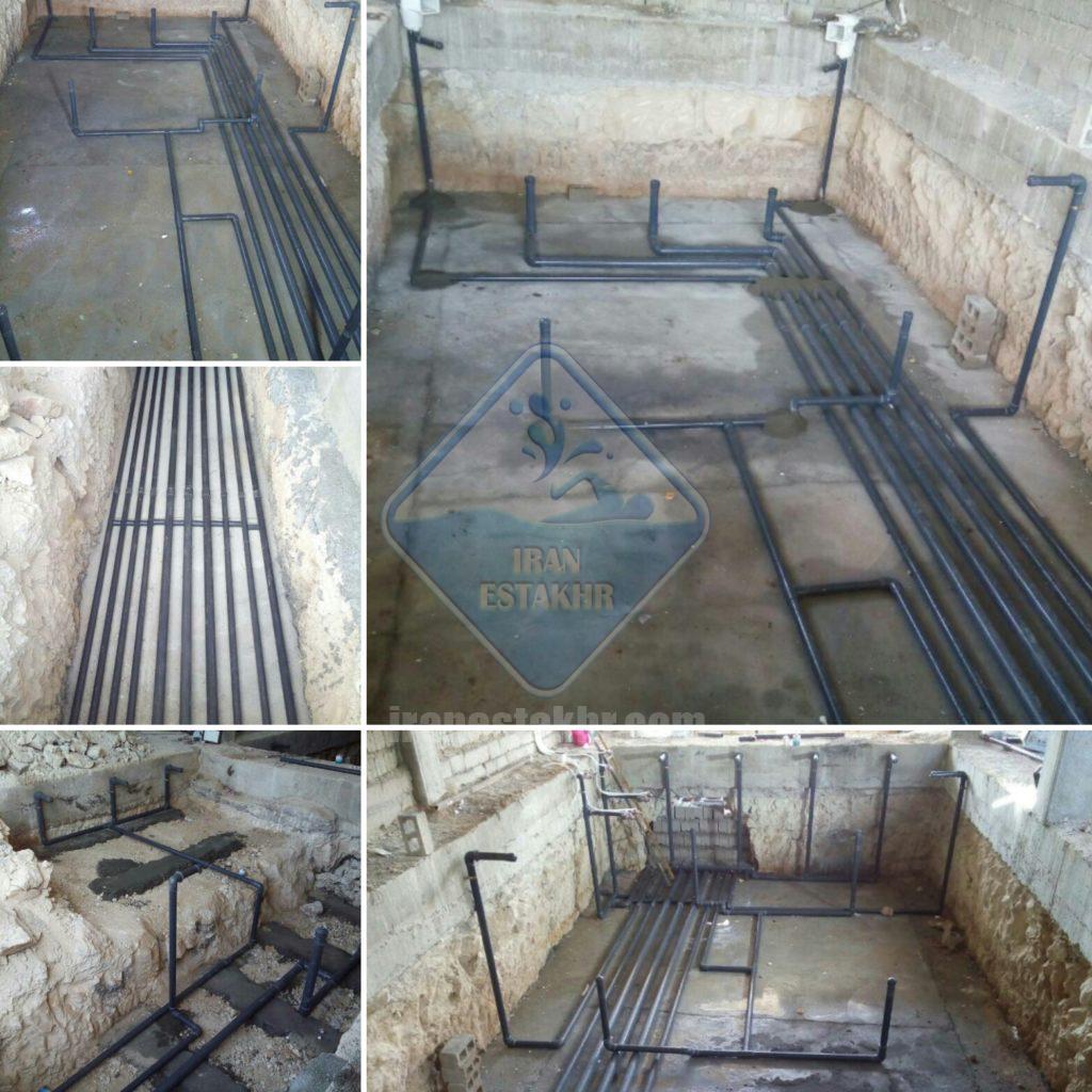پروژه اجرای سیستم لوله کشی و تاسیسات گرمایش-گویم